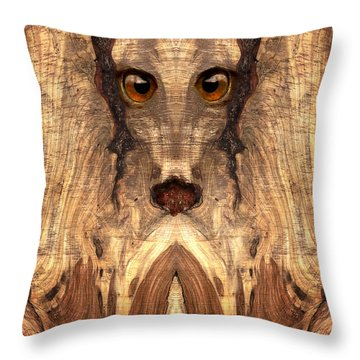Woody #12 Throw Pillow