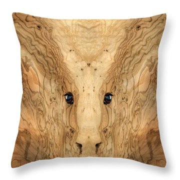 Woody 38 Throw Pillow