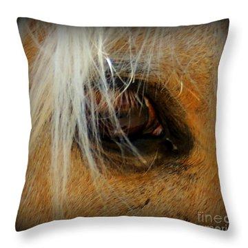 Woodys View Throw Pillow