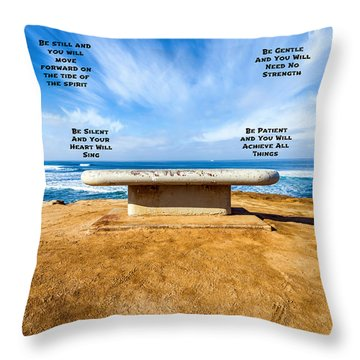 Words Of Wisdom Throw Pillow