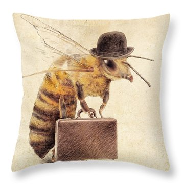 Workers Throw Pillows