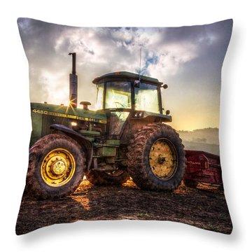 Workhorse II Throw Pillow