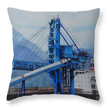 Working America Throw Pillow