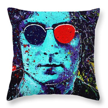 Working Class Hero II Throw Pillow