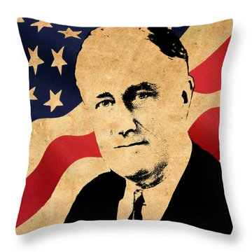 World Leaders 10 Throw Pillow