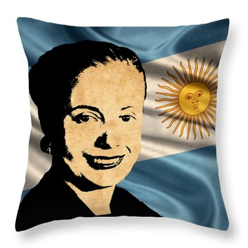 World Leaders 15 Throw Pillow by Andrew Fare