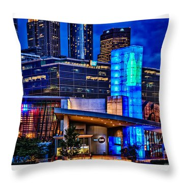 World Of Coca Cola Poster Throw Pillow