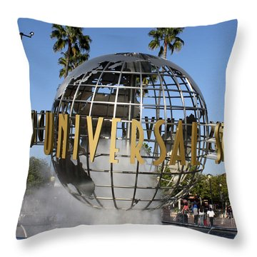 World Of Universal Throw Pillow