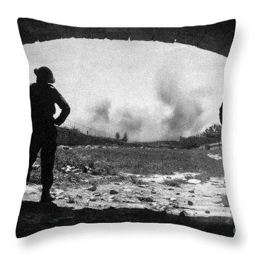 World War 2 Throw Pillow