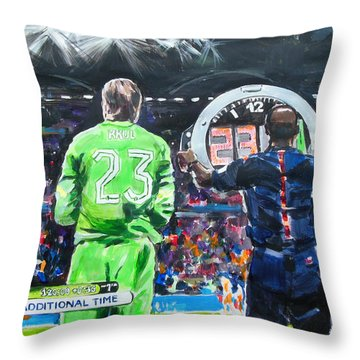 Worldcup 2014 - The Moment Throw Pillow