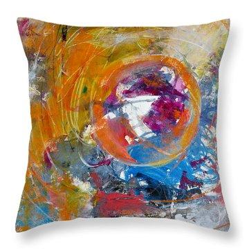 Worldly  Throw Pillow