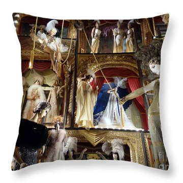Worldly Women Throw Pillow by Ed Weidman
