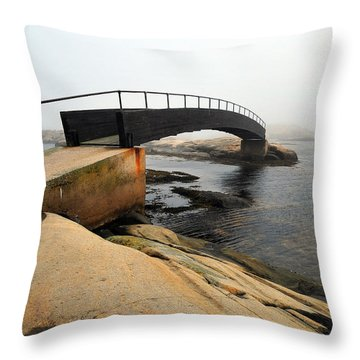World's End 3 Throw Pillow