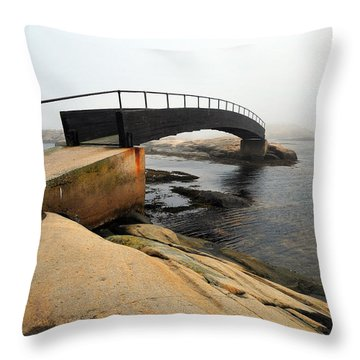 World's End 3 Throw Pillow by Randi Grace Nilsberg