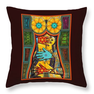 Worlds Inside Throw Pillow