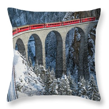 Switzerland Throw Pillows