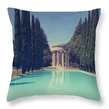 Worship Throw Pillow by Laurie Search
