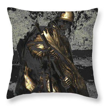 Worth Their Weight In Gold Throw Pillow