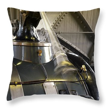 Woudagemaal Steam Engine. Throw Pillow