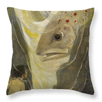 Wow Giants Circa 1916 Throw Pillow by Aged Pixel