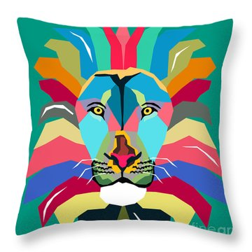 Wpap Lion Throw Pillow