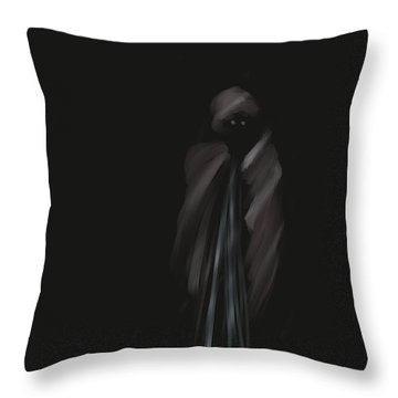 Wraith Throw Pillow