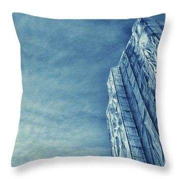 Wrapped Cathedral Throw Pillow by John Hansen