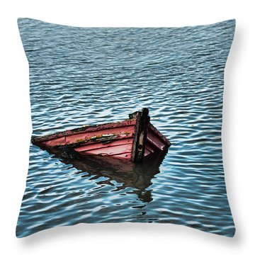 Wrecked Throw Pillow
