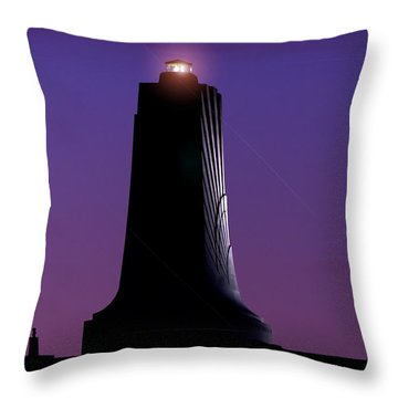 Throw Pillow featuring the photograph Wright Brothers Memorial by Greg Reed