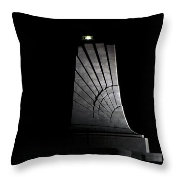 Throw Pillow featuring the photograph Wright Brothers Memorial II by Greg Reed