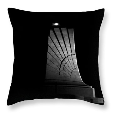 Wright Brothers National Memorial Throw Pillow by Greg Reed