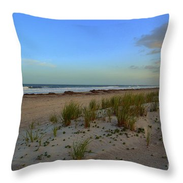 Wrightsville Beach Dune Throw Pillow