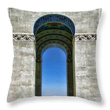 Wrigley's Memorial By Diana Sainz Throw Pillow