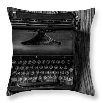 Write Me Throw Pillow by Garry Gay