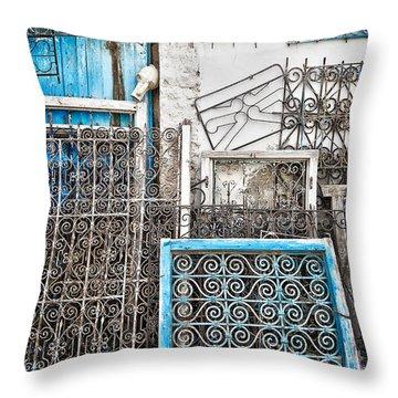 Wrought Iron 1 Throw Pillow