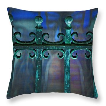 Wrought Iron Throw Pillow