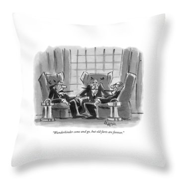 Wunderkinder Come And Go Throw Pillow