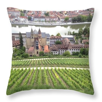 Wurzburg Throw Pillow