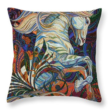 Wuthering Heights Throw Pillow by Erika Pochybova