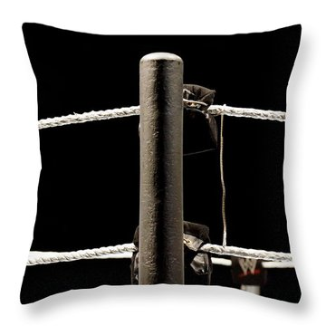 Wwe Ringside Throw Pillow