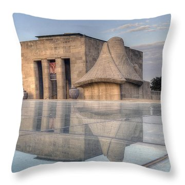 Wwi Museum  Throw Pillow