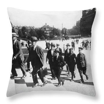 Wwi War Guilt Trial Throw Pillow