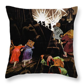 Wwii: Greek Poster, 1940 Throw Pillow by Granger