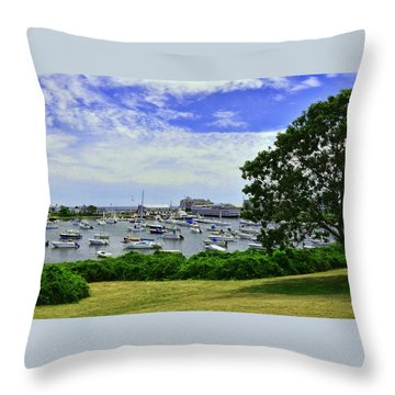 Wychmere Harbor Throw Pillow