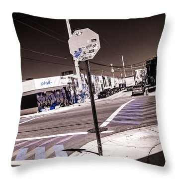 Wynwood Crossing Throw Pillow
