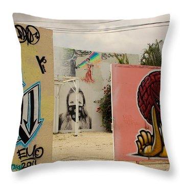 Wynwood Frame Within A Frame Throw Pillow