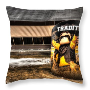 Wyoming Tradition Throw Pillow