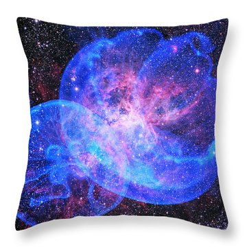X-factor In Universe. Strangers In The Night Throw Pillow