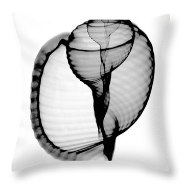 X-ray Of Scotch Bonnet Throw Pillow