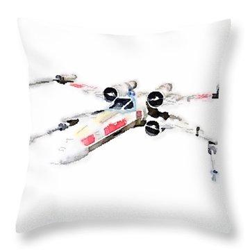 X-wing Throw Pillow